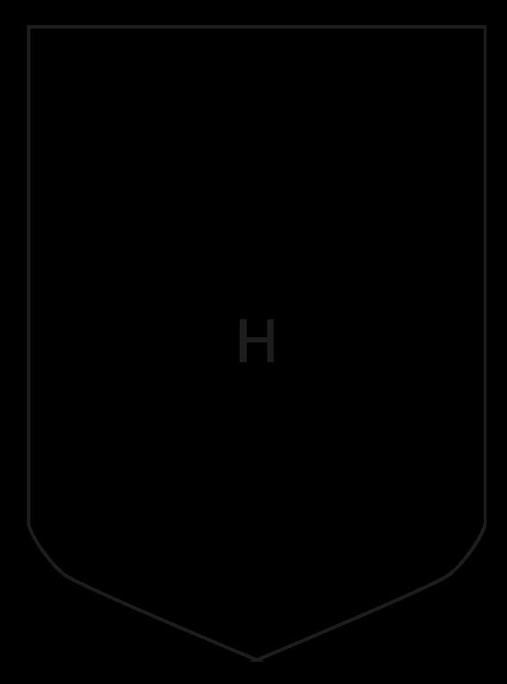 Forme fanion H