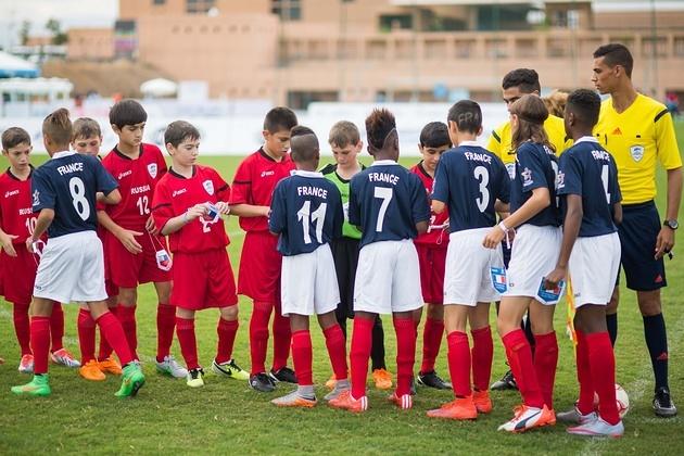 France-Fanions partenaire de la Danone Nation Cup