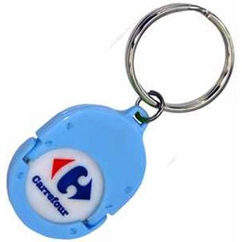 Porte clés jetons PVC EC1