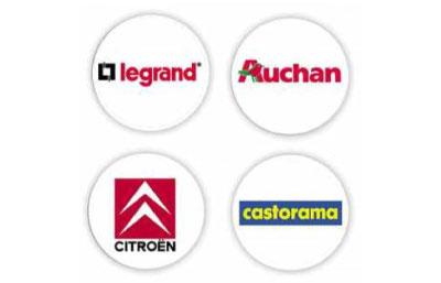 Porte clés publicitaires personnalisés jetons personnalisés