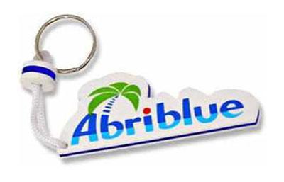 Porte clés publicitaires personnalisés porte clés en mousse