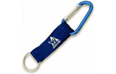 Porte clés publicitaires personnalisés porte clés carabiner
